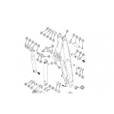 Втулка поворотного гидроцилиндра Case D147280