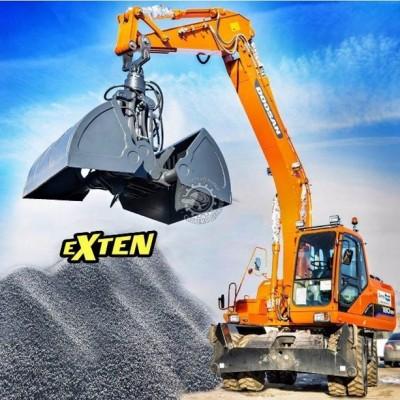 Грейферы EXTEN для сыпучих материалов